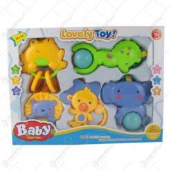 Set 5 jucarii zornitoare Lovely Toy