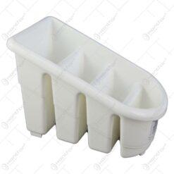 Suport pentru tacamuri realizat din plastic 18x14 CM