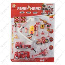 Set accesorii pompieri Fire Hero
