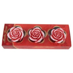 Set 3 lumanari parfumate Trandafiri Moulin Rouge