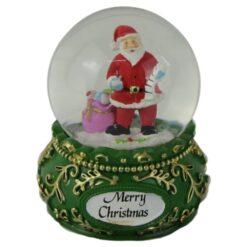 Glob de zapada Merry Christmas 9 CM
