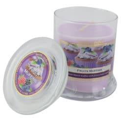 Lumanare parfumata in borcan de sticla Fruit Muffins