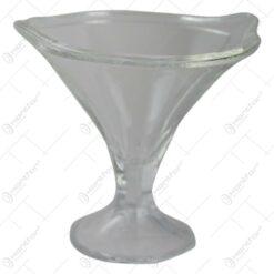 Set 6 cupe inghetata din sticla 300 ml Manolya
