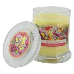 Lumanare parfumata in borcan de sticla Berries Ice Cream/Tropical Salad