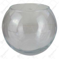 Vaza Flora din sticla tip bol 18x16 CM