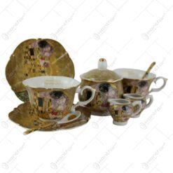 Set pentru servit ceai din portelan