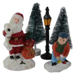 Set figurine pentru Sceneta de Craciun 7 CM