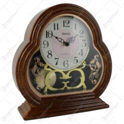Ceas de masa din plastic 25x26 CM