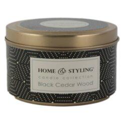 Lumanare parfumata Home&Styling in cutie metalica 8 CM