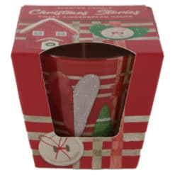 Lumanare parfumata de Craciun in pahar Christmas Stories