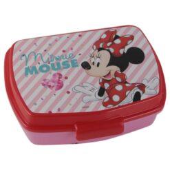 Cutie sandwich din plastic Minnie Mouse 17 CM