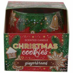 Lumanare parfumata de Craciun in pahar Christmas Cookies