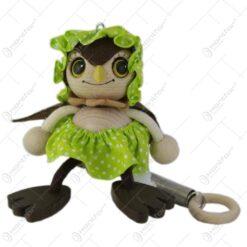 Figurina bungee jumping - Bufnita fetita 15 CM