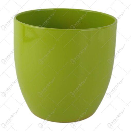 Ghiveci din ceramica Basel Verde 16x15 CM