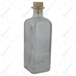 Sticla pentru bauturi cu dop de cauciuc 500 ml Quadra