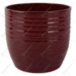 Ghiveci din ceramica Bergamo Bordo 14x13 CM
