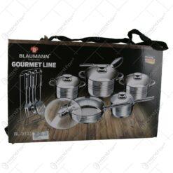 Set oale si tigai otel inoxidabil (17 piese) Jumbo Gourmet Line