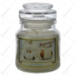 Lumanare parfumata in borcan Wellness&Beauty - Cotton/Argan Oil