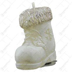 Lumanare figurina pentru Craciun 5 CM - Cizmulita/Inger/Clopotel