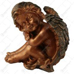 Statueta inger din rasina Bronz 17 CM