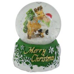 Glob de zapada Merry Christmas 7 CM