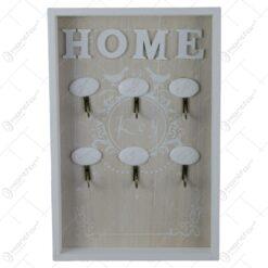 Suport pentru chei din lemn Home 20x30 CM