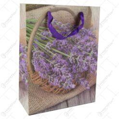 Punga cadou din hartie 18x24 CM - Lavanda