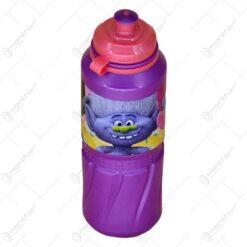 Plosca din plastic 530 ml - Design Trolls