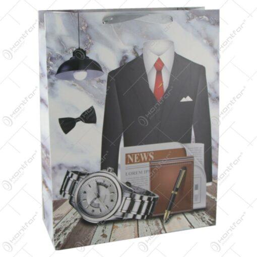 Punga cadou din hartie 31x40 CM - Accesorii fashion