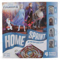 Joc colectiv Disney Frozen cu 4 figurine - Home Sprint