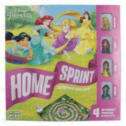 Joc colectiv Disney Princess cu 4 figurine - Home Sprint