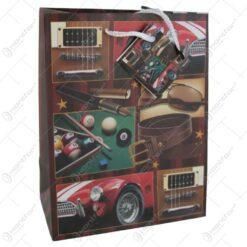 Punga cadou din hartie 23x18 CM - Masina