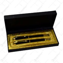 Set cadou in cutie eleganta - Stilou si pix (Model 1)