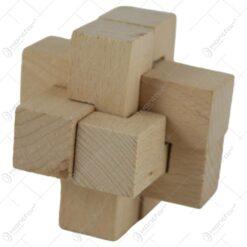 Joc logic din lemn 8 CM - Szekely Furfang
