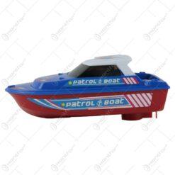 Barca Patrol cu sunete si lumini