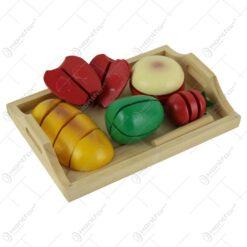 Set fructe feliabile din lemn