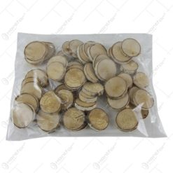 Felii rotunde de mesteacan la pachet