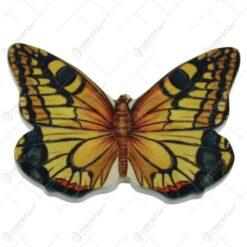 Magnet frigider Fluture din ceramica 8x5 CM - Butterfly