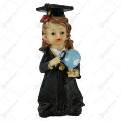 Figurina Absolvent din rasina 14 CM Fata/Baiat