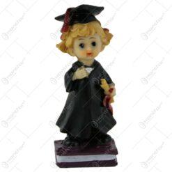Figurina Absolvent din rasina 10 CM Fata/Baiat