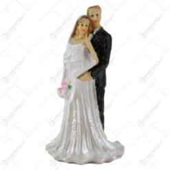 Figurina tort nunta Miri din rasina 15 CM