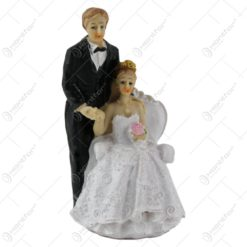 Figurina tort nunta Miri din rasina 13 CM