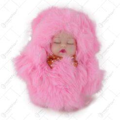 Set breloc bebelus pufos 13 CM