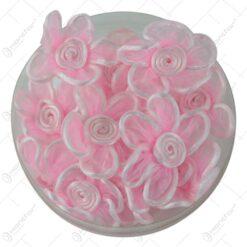Flori din matase cu lipici Roz 5 CM