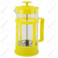 Presa Ceai/Cafea din sticla si plastic 350 ml