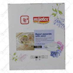 Vas termorezistent cu capac Yena Mijotex 1 L