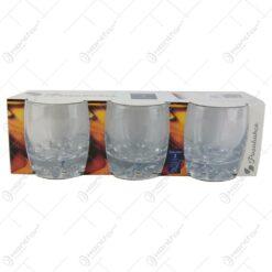 Set 3 pahare Whiskey Sylvana