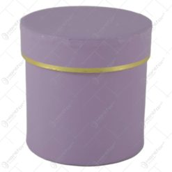 Cutie cadou rotunda Pastel 10 CM - Se vinde 6 buc/bax