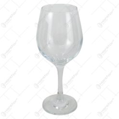 Set 6 pahare vin rosu Amber