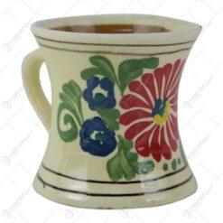 Cana traditionala din ceramica de Corund 10 CM